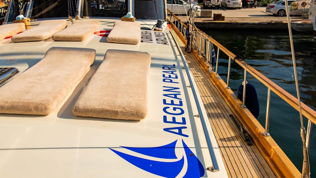 Goélette Aegean Pearl