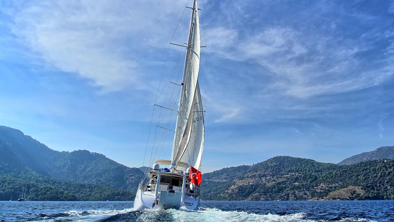 Yacht à voile Angelo 2