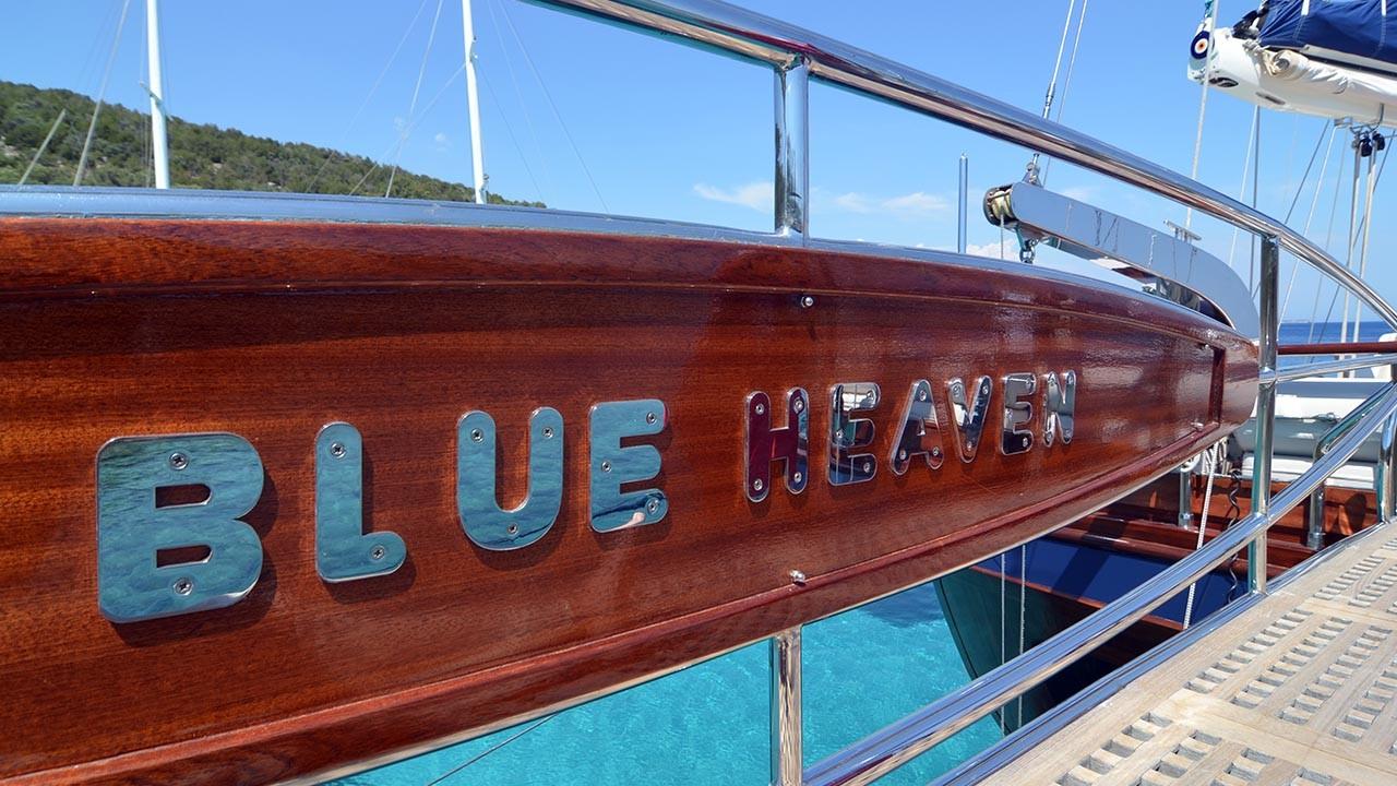 Goélette Blue Heaven