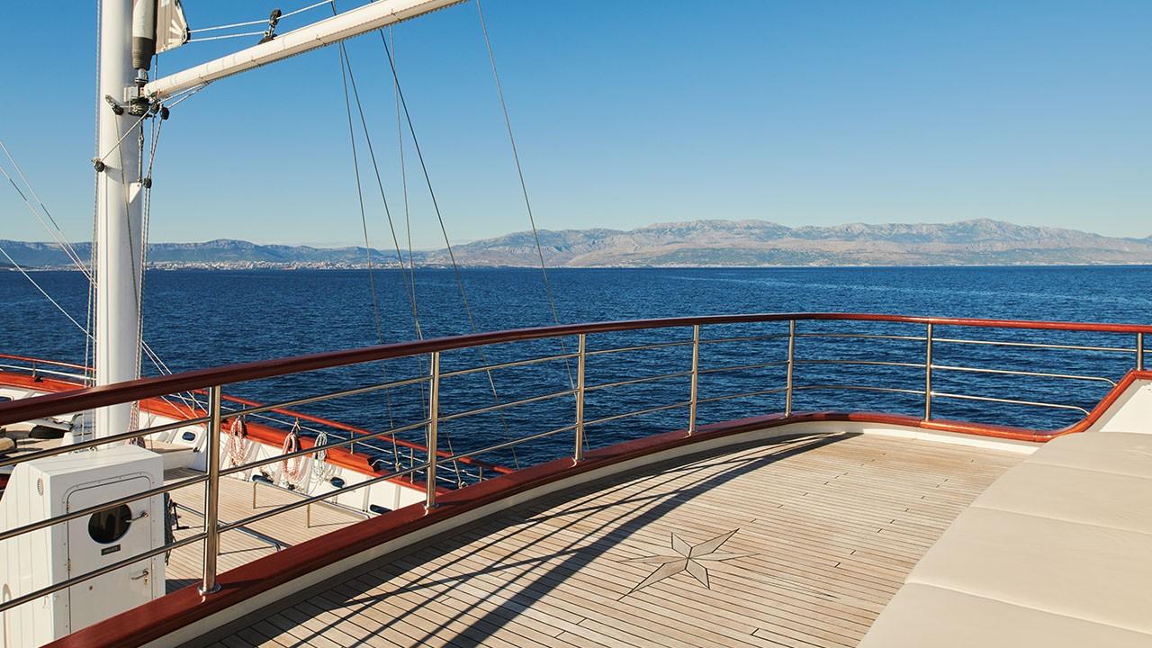 Yacht à voile Corsario