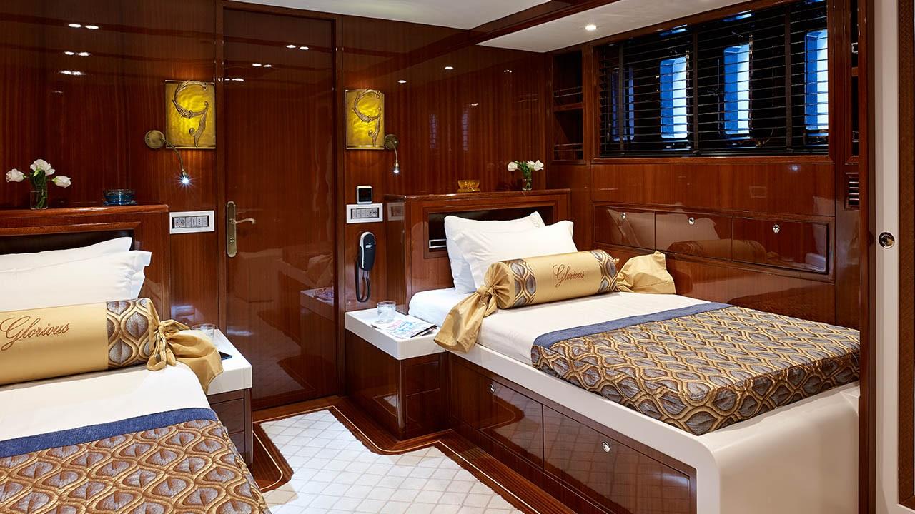 Yacht à voile Glorious