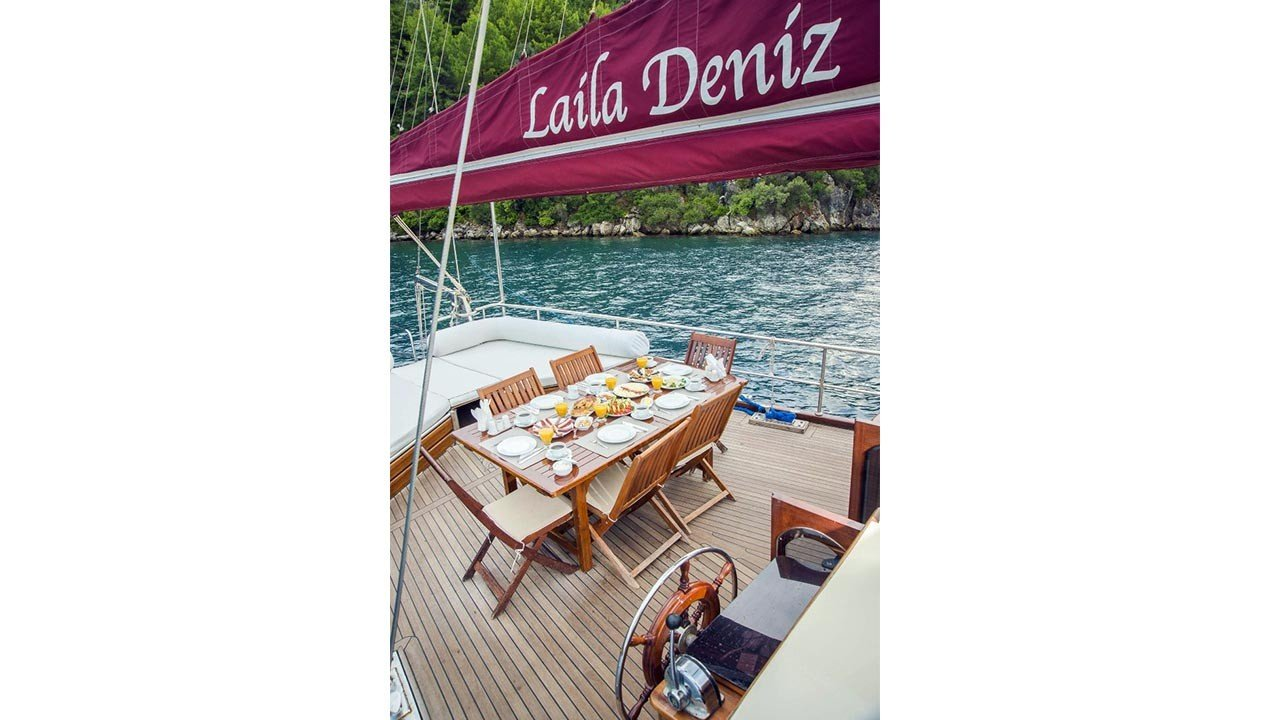 Goélette Laila Deniz
