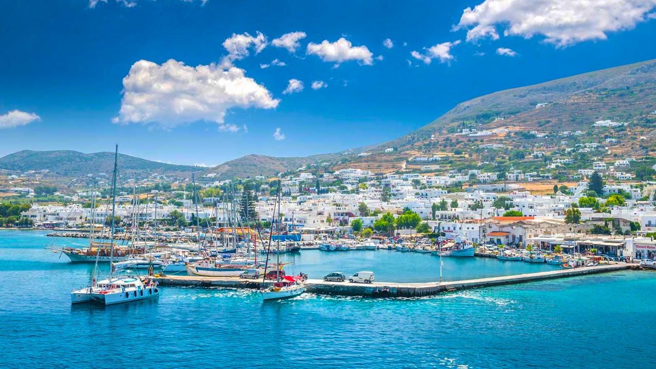 L'île de Paros