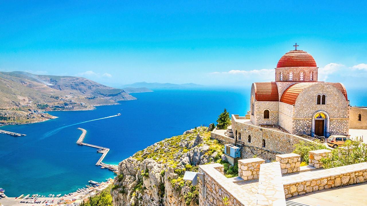 Îles grecques de l'île de Kos
