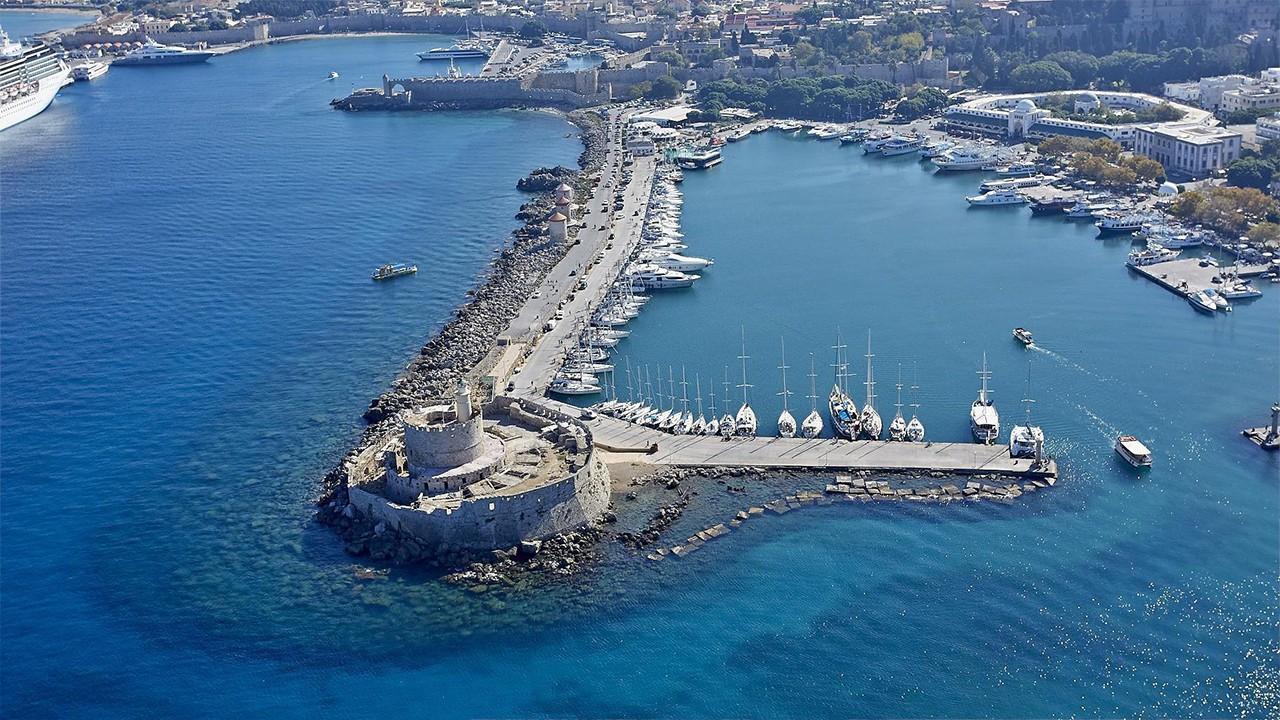Îles grecques de l'île de Rhodes
