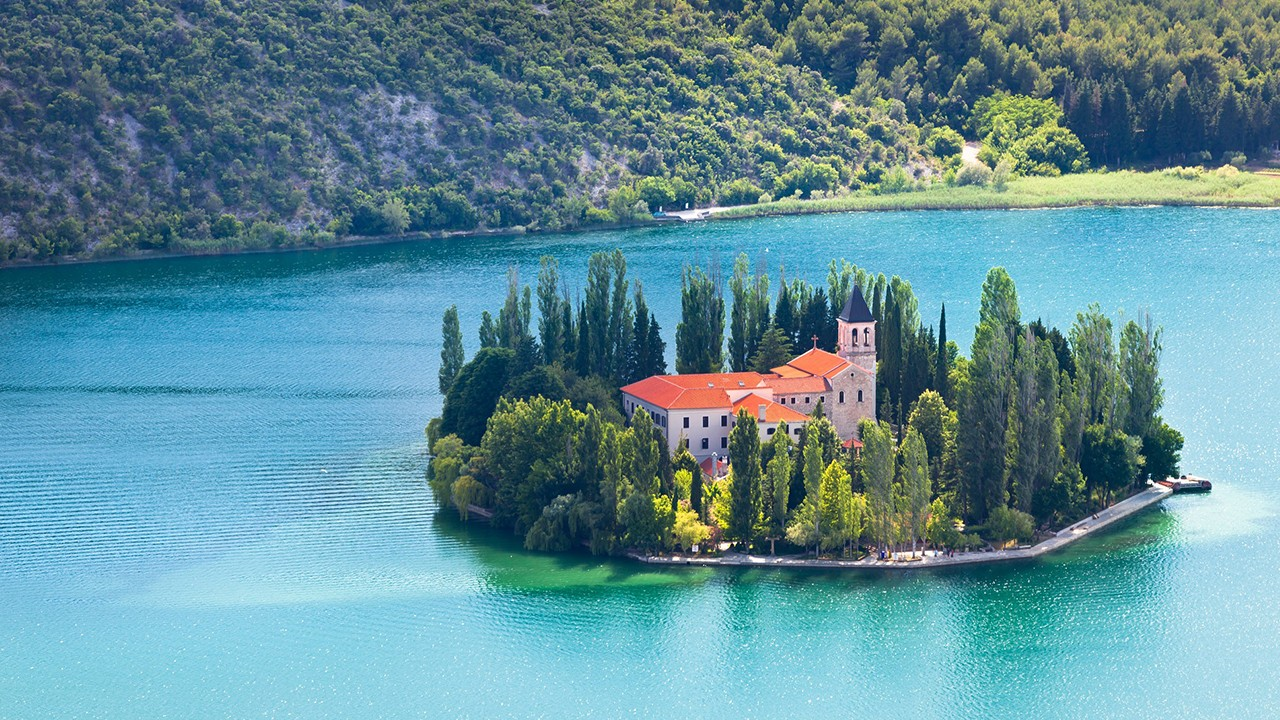 Zadar à la Dalmatie du nord