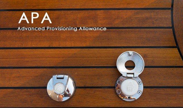 Qu'est-ce que APA (Advanced Provisioning Allowance )?