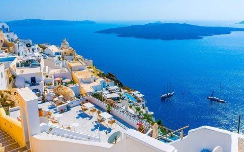 Croisière vers les îles grecques