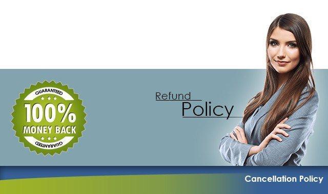 Politique d'annulation et de remboursement