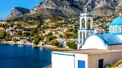 Bodrum aux îles grecques (Dodécanèse du Nord)
