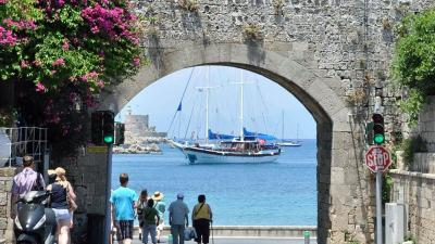 Rhodes à Dodécanèse