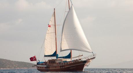Ariva 1 Goélette Yacht