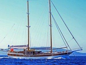 Cevri Hasan 4 Goélette Yacht
