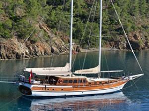 Derin Deniz Goélette Yacht