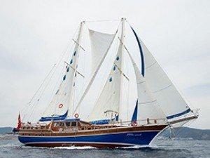 Gulden Irmak Goélette Yacht