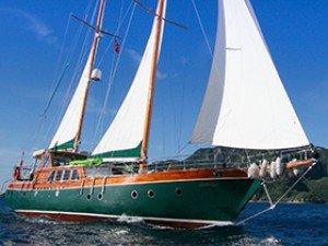 Lady Freya Goélette Yacht