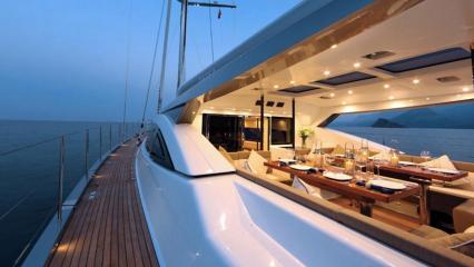 Yacht à voile Patea