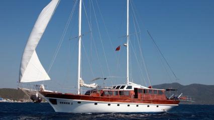 Seher 1 Goélette Yacht