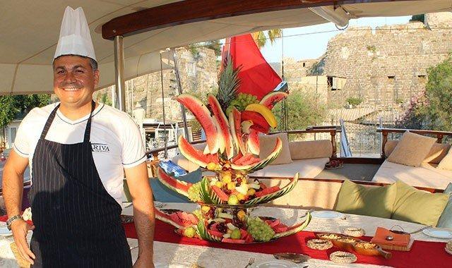 Charte de yacht gastronomique et gastronomique