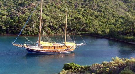 Myra Goélette Yacht