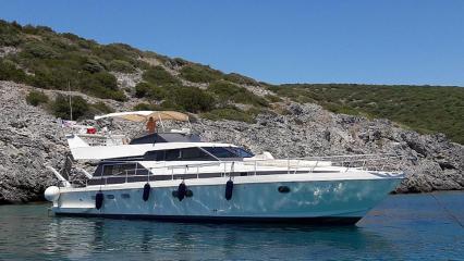Yacht à moteur Aegean Angel