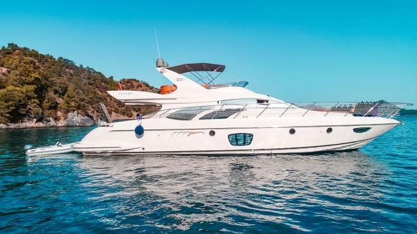 Azimut 62 Fly VIP Yacht à moteur