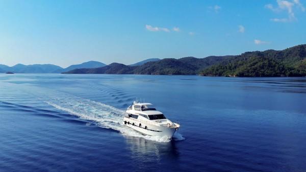 Yacht à moteur Barbarossa Moratti