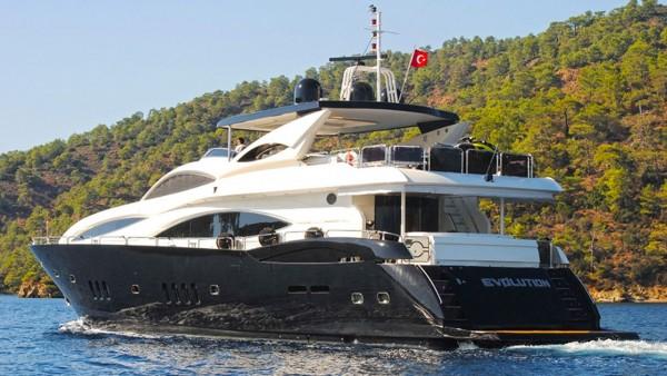 Yacht à moteur Evolution