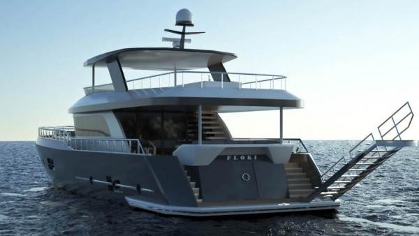 Yacht à moteur Floki
