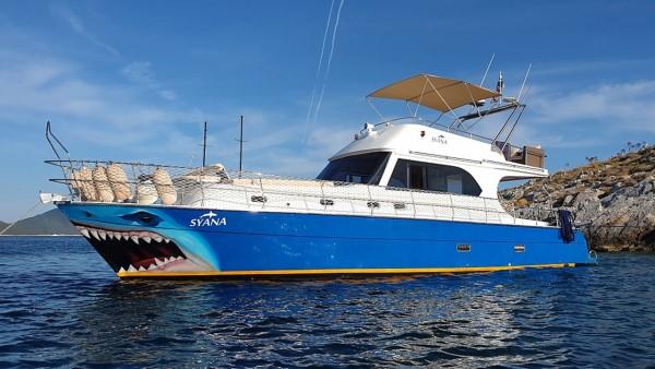 Yacht à moteur Syana