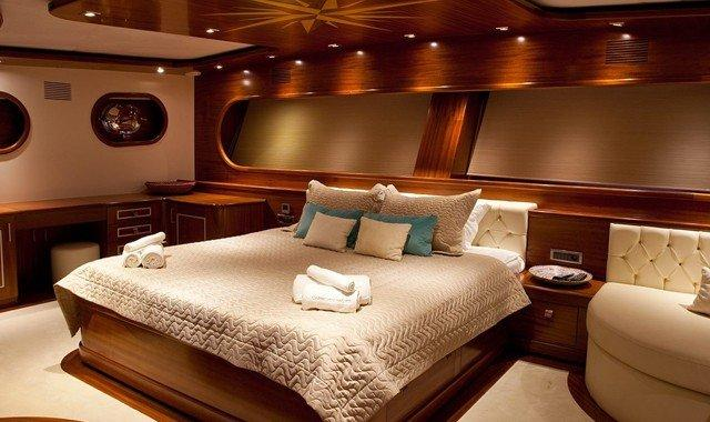Accommodation de Yacht Charter